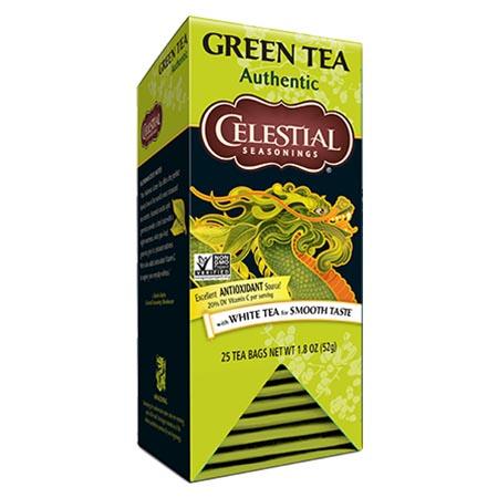 Celestial Seasonings Authentic Green Tea Bags 25ct