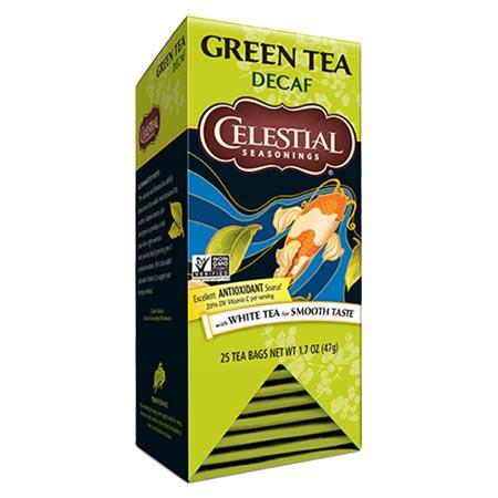 Celestial Seasonings Decaf Authentic Green Tea Bags 25ct