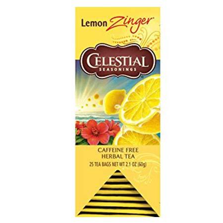 Celestial Seasonings Lemon Zinger Tea Bags 25ct