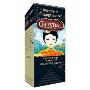 Celestial Seasonings Mandarin Orange Spice Tea Bags 25ct