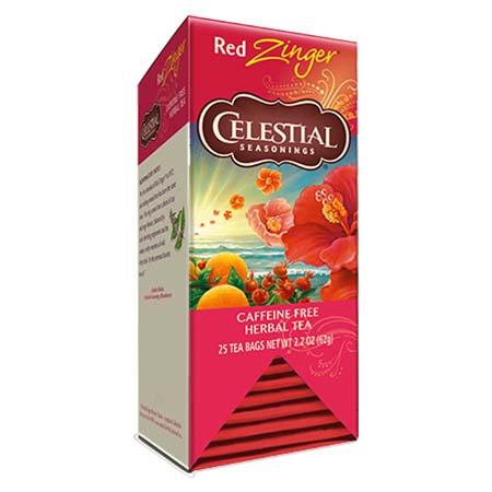 Celestial Seasonings Red Zinger Tea Bags 25ct