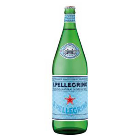 San Pellegrino Glass Bottle 1l.