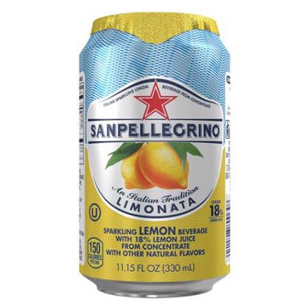 San Pellegrino Limonata 11oz Can