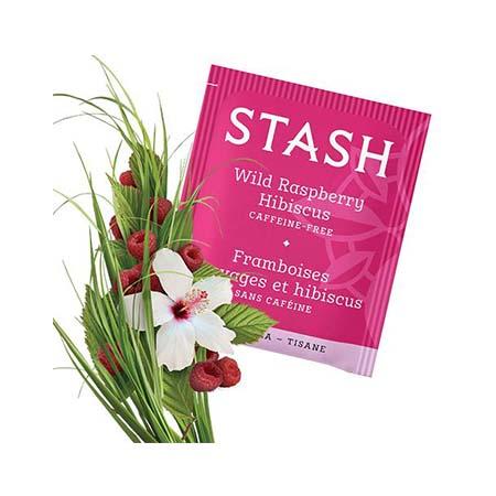 Stash Wild Raspberry Hibiscus Tea Bags 30ct