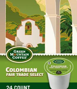 Green Mountain Colombian Fair Trade K cup