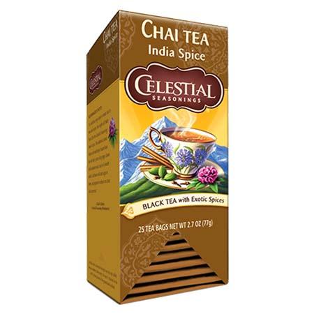 Celestial Seasonings Chai Indian Spice Tea Bags 25ct