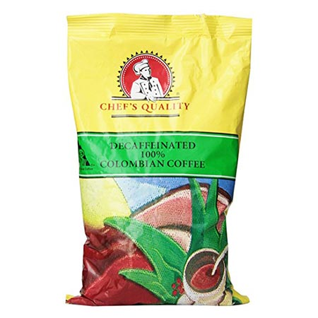 Chefs Quality decaf Colombian Ground
