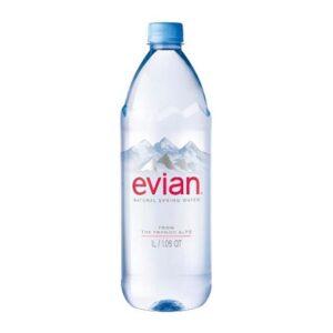 Evian Natural Spring Water 1L