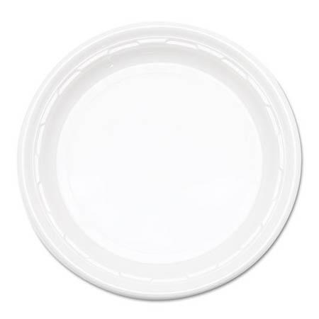 Plastic Plate White 10 inch