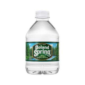 Poland Springs 8oz bottle